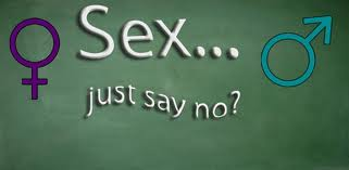 say no to sex before marriage